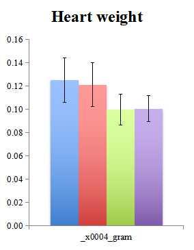 心脏和其他器官重量测量
