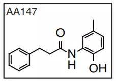 AA147 的分子结构式