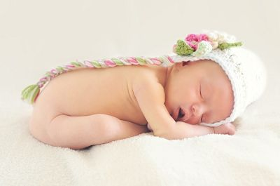 患有脊髓脊膜突出的婴儿