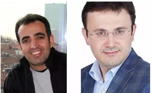 Mazhar Adli 教授(左)和 Ahmet Yildiz 教授(右)