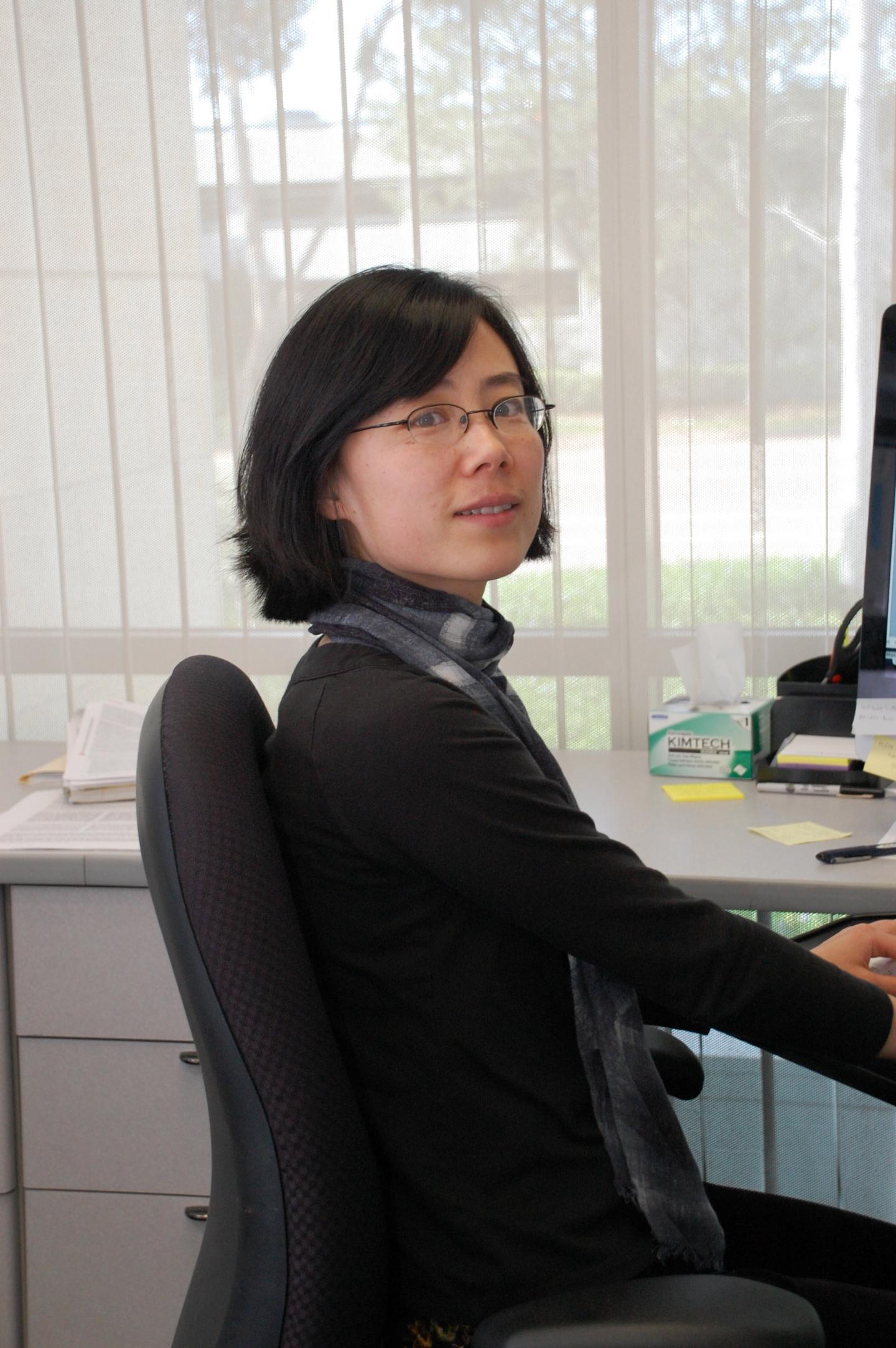 Jing Crystal Zhao博士