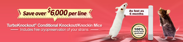 knockout mice | knockout mouse service | model - TurboKnockout CKO Mice