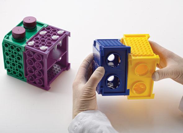 多用途四模块组合式离心管架