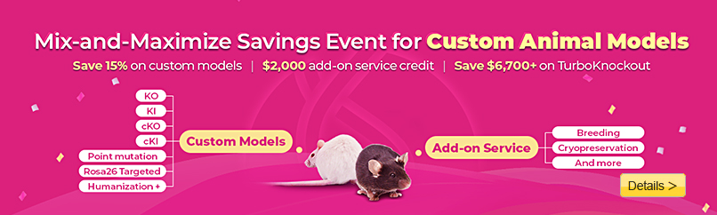 Mix-and-Maximize Savings Event for Custom Animal Models