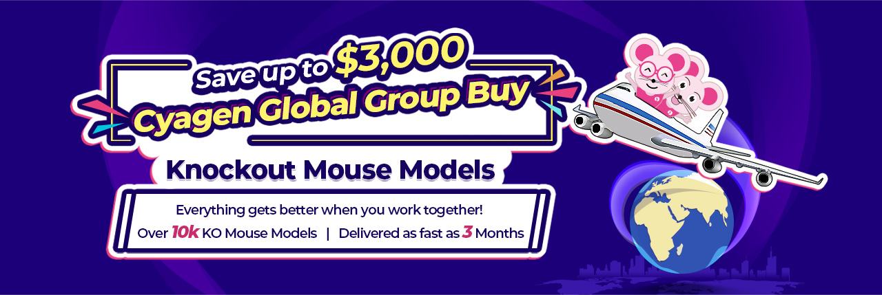Everything gets better when you work together! Over 10k KO Mouse Models | Delivered as fast as 3 Months